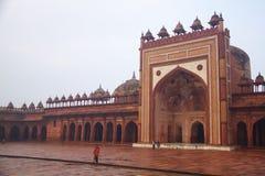 Rajastan旅行、Jawab Masjid和阿格拉堡, 2011年, 12月, 31日 图库摄影