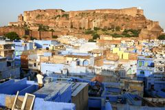 rajastan的乔德普尔城 免版税库存照片