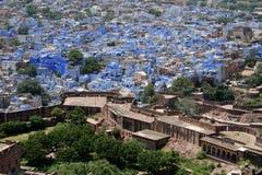 rajastan的乔德普尔城 免版税图库摄影