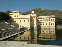 Rajastan. Rajsamand Lake is a lake near the town of Rajsamand in the Indian state of Rajasthan. Built in the 17th century, it is approximately 1.75 miles wide, 4 Royalty Free Stock Images