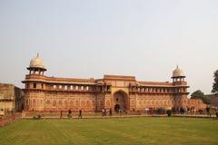 Rajastan Travel,Jawab Masjid and Agra Fort. Agra, India,  2011,. Rajastan Travel, Jawab Masjid and Agra Fort in Agra, India, 2011, December, 31th Stock Image