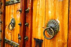 Rajastani drzwi Zdjęcia Stock