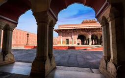 Rajasthan City Palace in Jaipur Royalty Free Stock Image