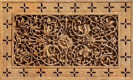 Free Rajasthan Floral Carving Pattern, India Stock Images - 193761964