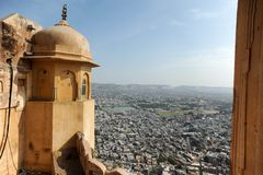 Rajasthan Fort Royalty Free Stock Photo