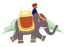 Rajasthan gå Arkivfoton