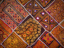 Rajasthan, India. Vintage old wall tapestry in traditional India Royalty Free Stock Photo