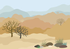 Rajasthan landscape Royalty Free Stock Photography