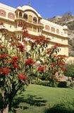 Rajasthan palace Stock Image