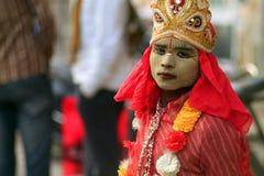 Rajasthan pojke Royaltyfri Fotografi