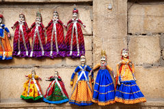Rajasthan Puppets Royalty Free Stock Photos