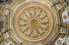 Rajasthan temple ceiling Royalty Free Stock Photography