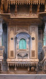 Rajasthan window. A traditional Haveli window in Rajasthan, India Royalty Free Stock Photos