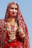 Rajasthani妇女 免版税库存图片