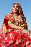Rajasthani妇女 图库摄影