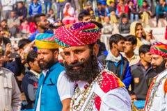 Rajasthani人 免版税库存照片
