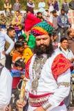 Rajasthani人 图库摄影