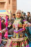 Rajasthani dancers Stock Image
