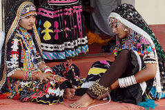 Rajasthani Folk Artist Royalty Free Stock Photo