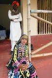 Rajasthani Folk Artist Stock Photo