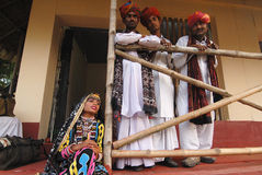 Rajasthani Folk Artist Stock Photography
