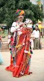 Rajasthani folk dancer Royalty Free Stock Photos