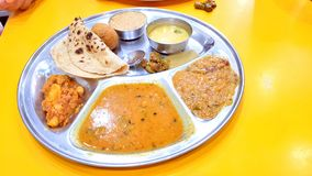 Free Rajasthani Food Thali Royalty Free Stock Images - 126850209