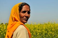 Rajasthani Frau Stockfotografie