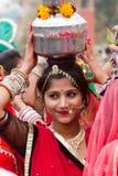 Rajasthani girl Royalty Free Stock Photos