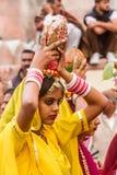 Rajasthani girl Royalty Free Stock Photo