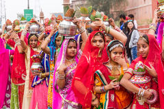 Rajasthani girls Royalty Free Stock Images