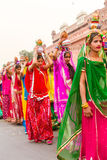 Rajasthani girls Stock Image