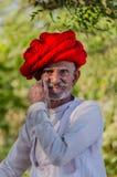 Rajasthani hogere mens Stock Afbeeldingen