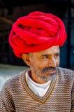 Rajasthani hogere mens Royalty-vrije Stock Afbeelding