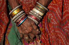 Rajasthani Jewelry Royalty Free Stock Images