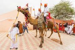 Rajasthani lancers Royalty Free Stock Photos