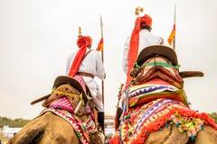 Rajasthani lancers Royalty Free Stock Image