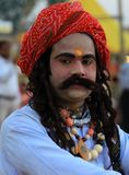 Rajasthani man Royalty Free Stock Photo