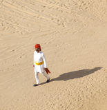 Rajasthani man with bright red Royalty Free Stock Photos
