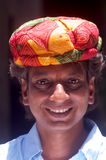 Rajasthani man with turban Royalty Free Stock Photo