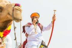 Free Rajasthani Man With Sword Royalty Free Stock Image - 95377766