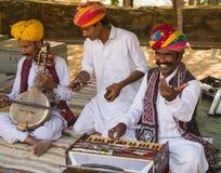 Rajasthani-Mann Stockfotos
