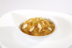 Rajasthani Moong Dal Halwa Indian Dessert imagem de stock royalty free