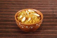 Rajasthani Moong Dal Halwa Indian Dessert imagens de stock royalty free