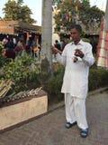 Rajasthani musician Royalty Free Stock Photography