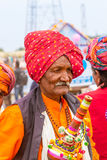Rajasthani muzyk Obraz Stock