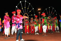 Rajasthani performers Royalty Free Stock Photo