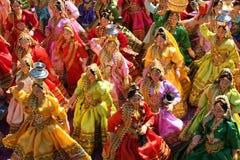 Rajasthani Puppen stockfoto