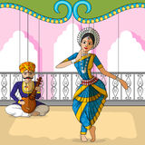Rajasthani Puppet doing Odissi classical dance of Odisha, India Stock Photography