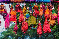 Rajasthani puppets for sale Stock Photography